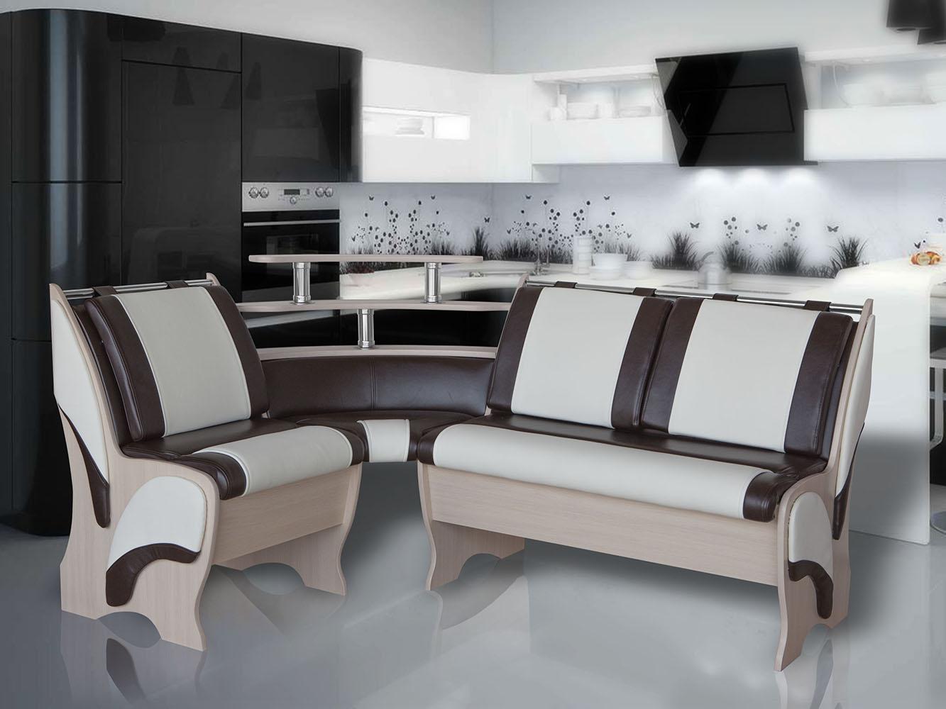 КУ-30 дуб млечный (иск. кожа кат.5) С-0402, Ф-8гл дешево в Новосибирске — интернет-магазин мебели